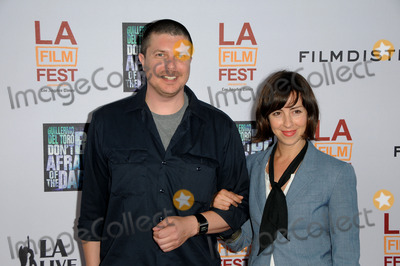 Amanda Street Photo - Actor Kent Osborne (L) and actress Amanda Street arriving at the 2011 Los Angeles Film Festival Closing Night Premiere Dont Be Afraid Of The Dark at Regal Cinemas LA Live on June 26 2011 in Los Angeles California