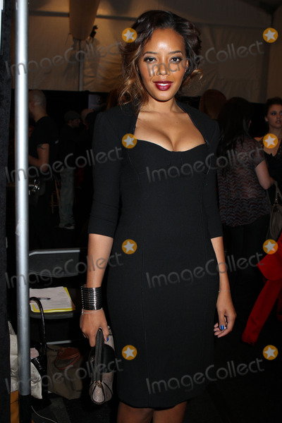 Angela Simmons Photo - February 14 2012 New York cityAngela Simmons at the Pamella Roland Fall 2012 fashion show during Mercedes-Benz Fashion Week at The Studio at Lincoln Center on February 14 2012 in New York City