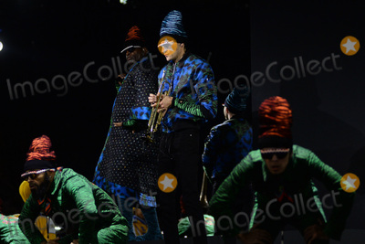 Jordan McLean Photo - October 19 2016  New York CityJordan McLean performing at KENZO x HM Launch Event Directed By Jean-Paul Goude at Pier 36 on October 19 2016 in New York CityCredit Kristin CallahanACE PicturesTel 646 769 0430