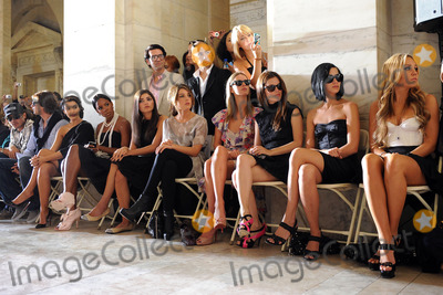 Amanda Bynes Photo - Kim Kardashian Kelly Rowland Amanda Setton Shenae Grimes Nicky Hilton Rachel Bilson and Amanda Bynes at the Jill Stuart Spring 2010 fashion show at Mercedes-Benz Fashion Week at Astor Hall on September 14 2009 in New York City
