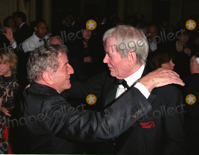 Peter O Toole Photo - Peter OToole greets Tony Bennett at the Players Clubs Pipe Night For Peter OToole Benefit in New York January 27 2002  2002 by Alecsey BoldeskulNY Photo Press  ONE-TIME REPRODUCTION RIGHTS