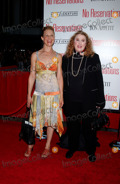 Arija Bareikis Photo - Actresses Arija Bareikis and Celia Weston arrives at the premiere of No Reservations held at Ziegfeld Theatre in New York City