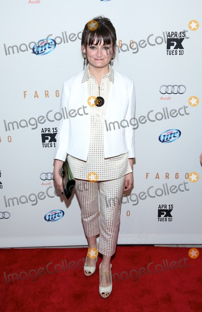 Alison Wright Photo - April 9 2014 New York CityAlison Wright attends the FX Networks Upfront screening of Fargo at SVA Theater on April 9 2014 in New York City