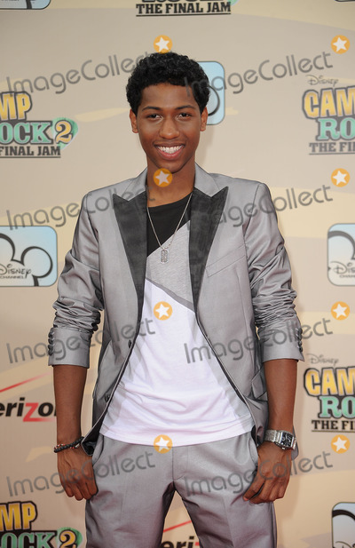 JORDAN FRANCIS Photo - Actor Jordan Francis arriving at the premiere of Camp Rock 2 The Final Jam at Alice Tully Hall Lincoln Center on August 18 2010 in New York City