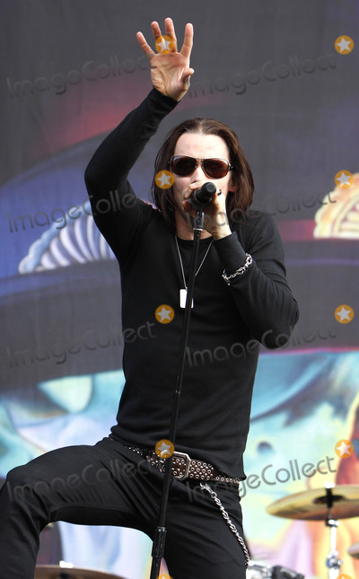 Myles Kennedy Photo - Myles Kennedy performing live during the final day of the Wireless Festival in Hyde Park on July 4 2010 in London