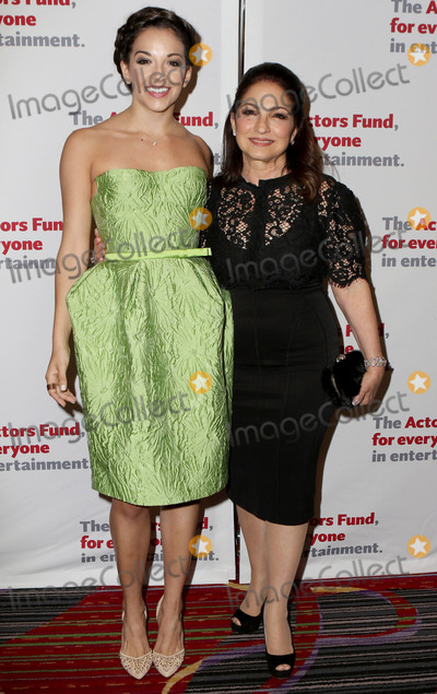 Ana Villafane Photo - April 25 2016 New York CityGloria Estefan (R) and Ana Villafane arriving at The Actors Fund Gala at the Marriott Marquis Times Square on April 25 2016 in New York CityBy Line Nancy RiveraACE PicturesACE Pictures Inctel 646 769 0430