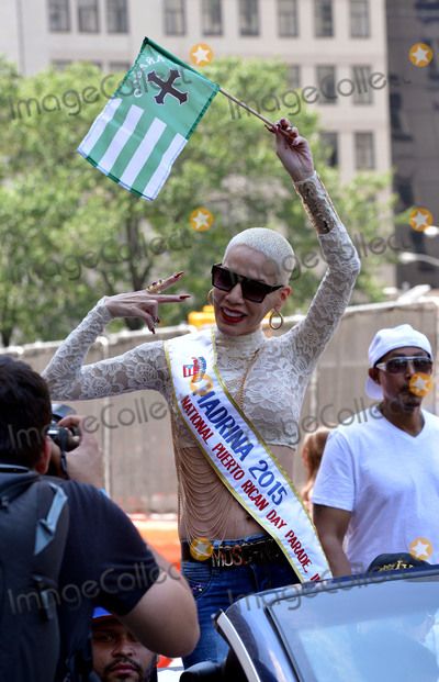 Ivy Queen Photo - June 14 2015 New York Citysinger Ivy Queen at the 2015 Puerto Rican Day Parade on June 14 2015 in New York CityBy Line Curtis MeansACE PicturesACE Pictures Inctel 646 769 0430