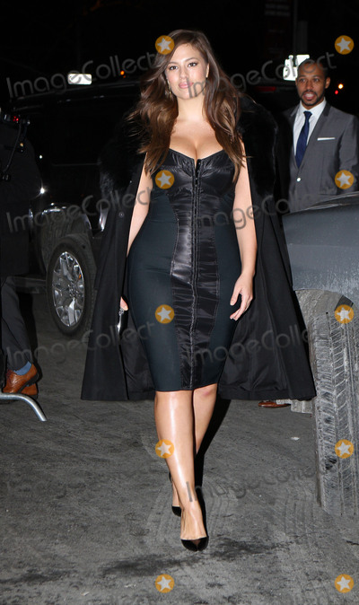 Ashley Graham Photo - February 10 2015 New York CityModel Ashley Graham arriving at 2015 Sports Illustrated Swimsuit Issue celebration at Marquee on February 10 2015 in New York City Please byline Nancy RiveraACE PicturesACE Pictures Inc Tel 646 769 0430