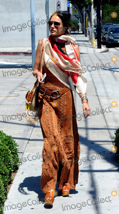 ALLESANDRA AMBROSIO Photo - June 16 2016 LAModel Alessandra Ambrosio rocks a BoHo chic outfit on June 16 2016 in LABy Line SolarACE PicturesACE Pictures IncTel 6467670430