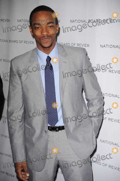 ANTHONEY MACKIE Photo - Anthony Mackie arriving at the National Board of Review of Motion Pictures Awards gala at Cipriani 42nd Street on January 12 2010 in New York City