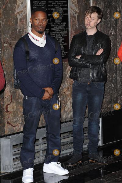 Avi Arad Photo - April 25 2014 New York CitySpider-Man Emma Stone Jamie Foxx Dane DeHaan and Producers Avi Arad and Matt Tolmach visit The Empire State Building on April 25 2014 in New York City