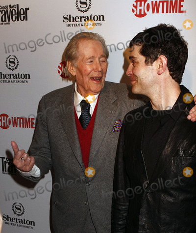 Peter OToole Photo - Actors Peter OToole and James Frain at the World Premiere party for Season Two of the Showtime Original series The Tudors at the Sheraton New York Hotel  Towers