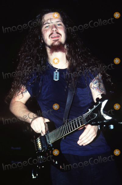 Dimebag Darrell Photo - STOCK PHOTO CIRCA 1998    Dimebag Darrell Abbott from Pantera