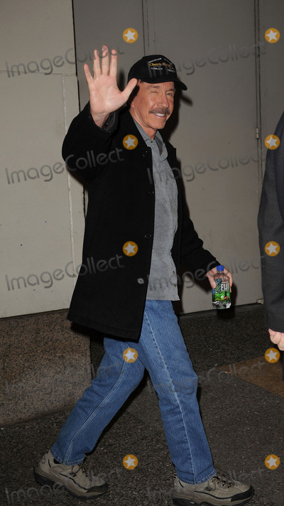 Chuck Norris Photo - Actor Chuck Norris spotted going into the MYV Studios in Times Square on November 9 2009 in New York City