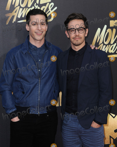 Andy Samberg Photo - April 9 2016 LAAndy Samberg (L)  arriving at the 2016 MTV Movie Awards at the Warner Bros Studios on April 9 2016 in Burbank CaliforniaBy Line Peter WestACE PicturesACE Pictures Inctel 646 769 0430