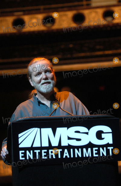 Allman Brothers Band Photo - Gregg Allman of the Allman Brothers Band attends a Press Conference to Announce the Beacon Theater joins MSG Entertainment