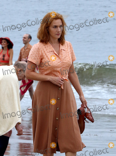 Kate Winslet Photo - September 19 2016 New York CityActress Kate Winslet was on the set of the new Woody Allen movie project on an New York beach on September 19 2016 in New York CityBy Line Zelig ShaulACE PicturesACE Pictures IncTel 6467670430