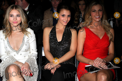 Allie Gonino Photo - (L-R) Allie Gonino Alexandra Chando Erin Andrews at the Pamella Roland Fall 2012 fashion show during Mercedes-Benz Fashion Week at The Studio at Lincoln Center on February 14 2012 in New York City