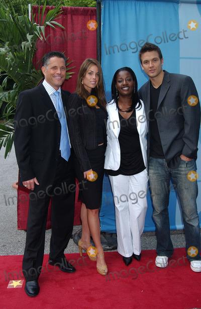 Aras Baskauskas Photo - Actors Terry Deitz Danielle DiLorenzo Cirie Fields and Aras Baskauskas arriving at the CBS Upfronts event