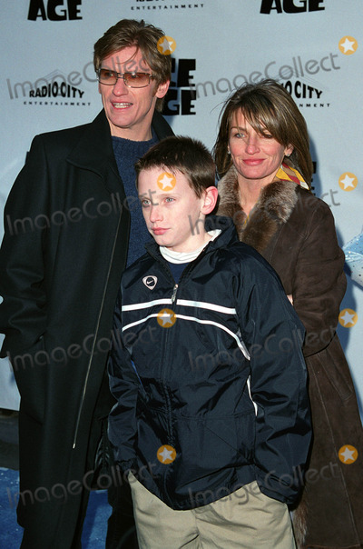 Ann Lembeck Photo - Actor and comedian DENIS LEARY with his wife ANN LEMBECK and their son attend the world premiere of Ice Age at the Radio City Music Hall in New York March 10 2002  2002 by Alecsey BoldeskulNY Photo Press     PAY-PER-USE          NY Photo Press    phone (646) 267-6913     e-mail infocopyrightnyphotopresscom