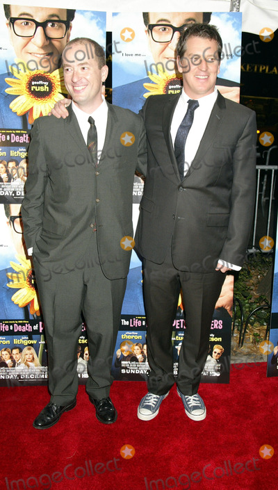 Christopher Markus Photo - NEW YORK NOVEMBER 19 2004    Christopher Markus and Stephen Hopkins at the New York premiere of The Life and Death of Peter Sellers