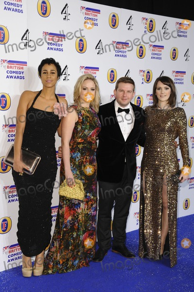 Charlotte Ritchie Photo - Zawe Ahston Kimberley Nixon Greg McHugh and Charlotte Ritchie arriving for the British Comedy Awards 2011 at Fountains Studios Wembley London 19122011 Picture by Steve Vas  Featureflash