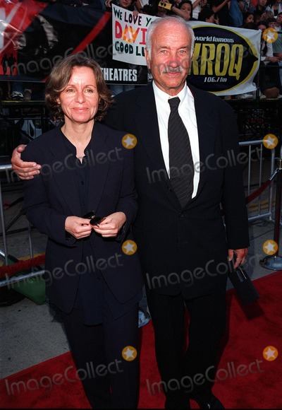 Armin Mueller-Stahl Photo - 11JUN98  Actor ARMIN MUELLER-STAHL  wife at the world premiere in Los Angeles of his new movie The X-Files 1998 Paul Smith  Featureflash