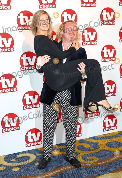 Amy Willerton Photo - Amy Willerton Keith Lemon at the TV Choice Awards 2014 held at the Park Lane Hilton London 08092014 Picture by James Smith  Featureflash