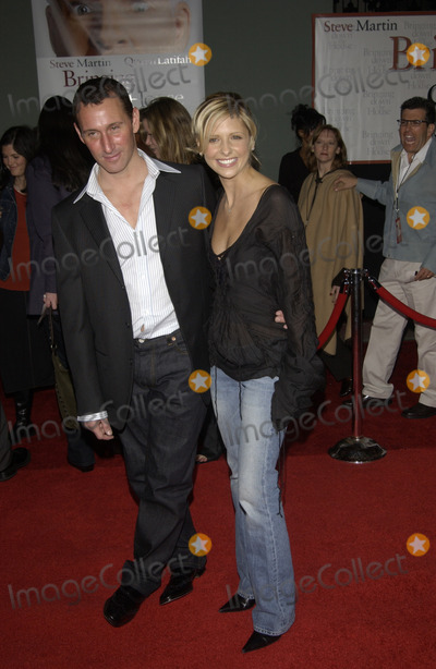 Adam Shankman Photo - Actress SARAH MICHELLE GELLAR  director ADAM SHANKMAN at the Hollywood premiere of his new movie Bringing Down The House02MAR2003   Paul Smith  Featureflash