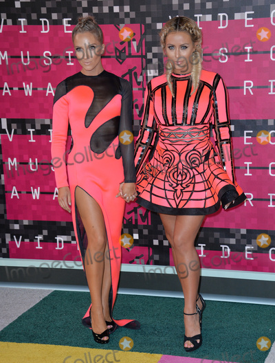 Aubrey ODay Photo - Singers Shannon Bex (left)  Aubrey ODay of duo Dumblonde at the 2015 MTV Video Music Awards at the Microsoft Theatre LA LiveAugust 30 2015  Los Angeles CAPicture Paul Smith  Featureflash