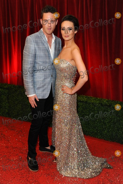 Andrew Moss Photo - Claire Cooper and Andrew Moss arriving for the British Soap Awards 2012 at London TV Centre South Bank London28042012 Picture by Steve Vas  Featureflash