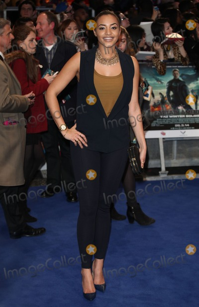 Amal Fashanu Photo - Amal Fashanu arriving at the Captain America The Winter Soldier UK Premiere Westfield London 20032014 Picture by Alexandra Glen  Featureflash