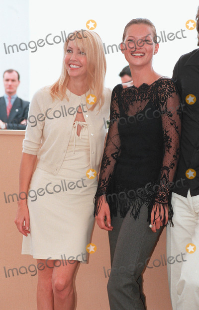 Heather Locklear Photo - 22MAY99 Actress HEATHER LOCKLEAR (left)  supermodel KATE MOSS at the Cannes Film Festival where theyre promoting LOreal Paul Smith  Featureflash