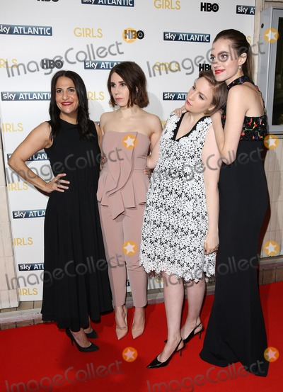 Lena Dunham Photo - Jenni Konner Zosia Mamet Lena Dunham Allison Williams arriving for the Girls - UK premiere of the third series held at the Cineworld Haymarket - Arrivals London 15012014 Picture by Henry Harris  Featureflash