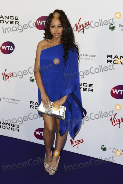 Alexis Jordan Photo - Alexis Jordan arriving for the Pre Wimbledon Party Kensington Roof Gardens London 16072011  Picture by Steve Vas  Featureflash