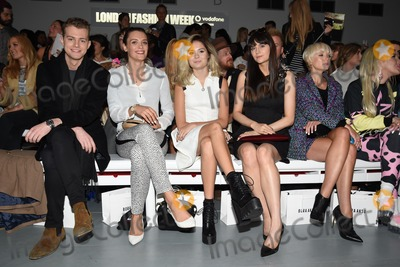 Helen George Photo - Wallis Day Nina Nesbitt Lilah Parsons and Helen George show as part of London Fashion Week SS15  12092014 Picture by Steve Vas  Featureflash