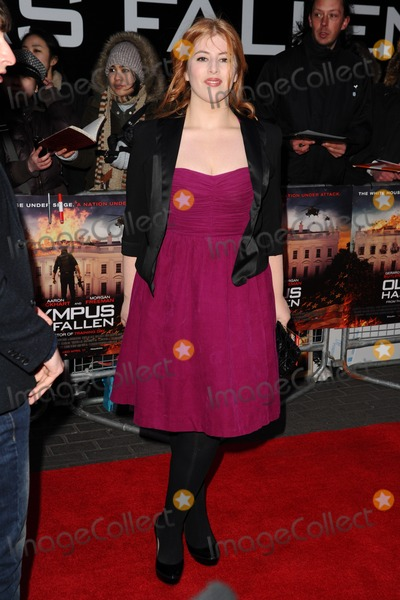 Lydia Bewley Photo - Lydia Rose Bewley arriving for the Olympus has Fallen premiere at the Imax South Bank London 03042013 Picture by Steve Vas  Featureflash