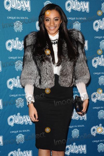 Amal Fashanu Photo - Amal Fashanu arrives for the Cirque du Soleil Quidam VIP press night at the Royal Albert Hall Kensington London 07012014 Picture by Steve Vas  Featureflash