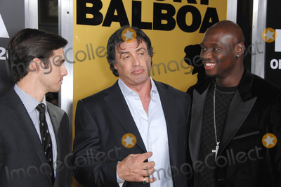 Antonio Tarver Photo - MILO VENTIMIGLIA (left)  SYLVESTER STALLONE  ANTONIO TARVER at the world premiere of their new movie Rocky Balboa at the Graumans Chinese Theatre HollywoodDecember 13 2006  Los Angeles CAPicture Paul Smith  Featureflash