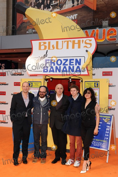 Alia Hawkat Photo - Tony Hale David Cross Jeffrey Tambour Michael Cera and Alia Hawkat arriving for the Arrested Development Season Four  premiere at the Vue Leicester Square London 09052013 Picture by Steve Vas  Featureflash