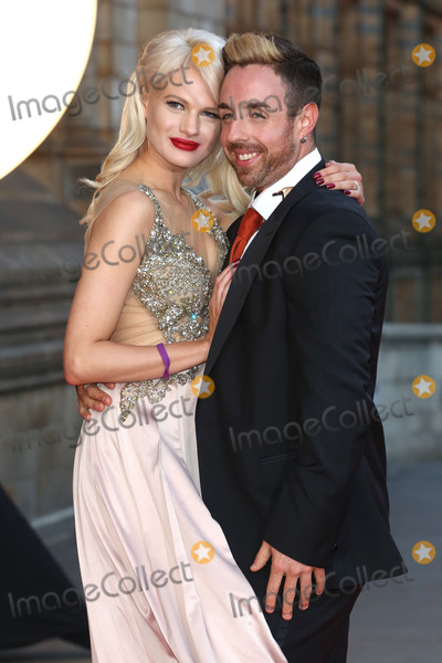 Cinderella Photo - Stevi Ritchie  Chloe-Jasmine Whichello at the Believe In Magic Cinderella Ball held at the Natural History Museum London August 10 2015  London UKPicture James Smith  Featureflash
