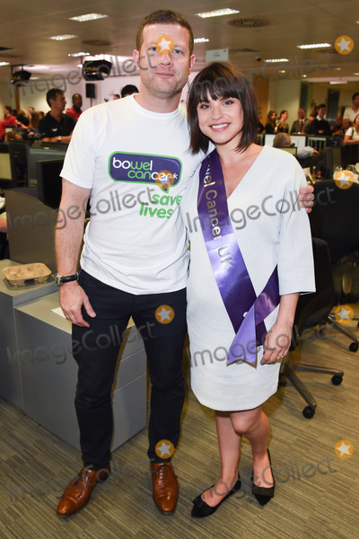 Dermot OLeary Photo - Dermot OLeary  Charlotte Riley at the BGC Charity Day 2015 at Canary Wharf London September 11 2015  London UKPicture Steve Vas  Featureflash