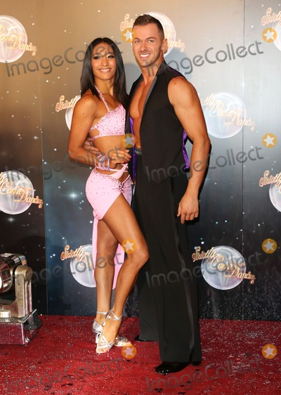 Artem Chigvintsev Photo - Karen Hauer and Artem Chigvintsev arriving for the Strictly Come Dancing 2012 Launch Television Centre London 11092012 Picture by Henry Harris  Featureflash