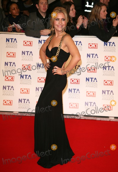 Heidi Range Photo - Heidi Range arriving for the National Television Awards O2 London 25012012 Picture by Alexandra Glen  Featureflash