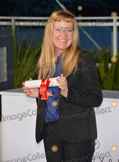 Andrea Arnold Photo - Director Andrea Arnold winner of The Jury Prize for the film American Honey at the winners photocall at the 69th Festival de CannesMay 22 2016  Cannes FrancePicture Paul Smith  Featureflash