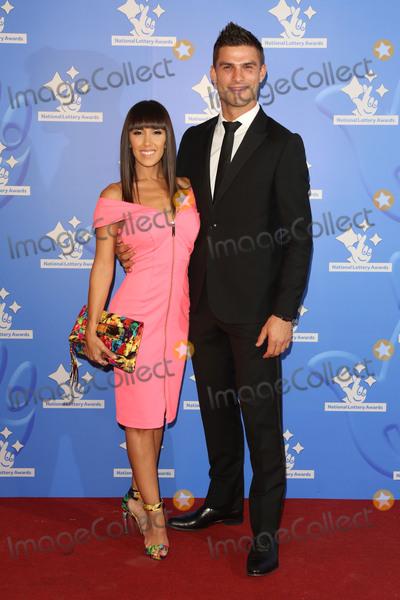 Aljaz Skorjanec Photo - Janette Manrara  Aljaz Skorjanec at The National Lottery Awards 2015 held at the London Studios September 11 2015  London UKPicture James Smith  Featureflash