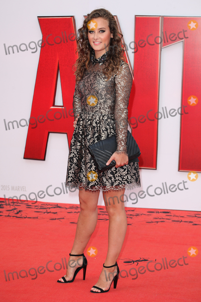 April Pearson Photo - April Pearson  arriving for the European premiere of Ant-Man at Odeon Leicester Square London 08072015 Picture  by Alexandra Glen  Featureflash