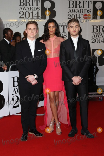 Aluna Francis Photo - Disclosure Aluna Francis arriving at The Brit Awards (Brits) 2014 held at the O2 London 19022019 Picture by Henry Harris  Featureflash