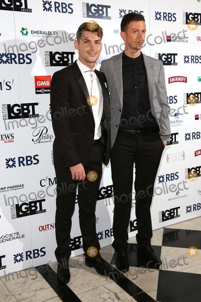 James Smith Photo - Kieron Richardson Carl Hyland at The British LGBT Awards at the Grand Connaught Rooms LondonMay 13 2016  London UKPicture James Smith  Featureflash