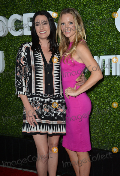 A J Cook Photo - LOS ANGELES CA August 10 2016 Actresses Paget Brewster  AJ Cook at the CBS  Showtime Annual Summer TCA Party with the Stars at the Pacific Design Centre West Hollywood Picture Paul Smith  Featureflash